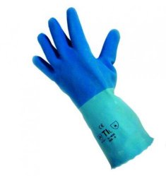Latex gloves Pro-Fit 6240, super blue Heco-Catalogue