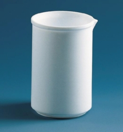 Beakers, low form, PTFE Heco-Catalogue