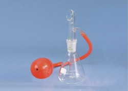Special atomiser, with rubber blowball