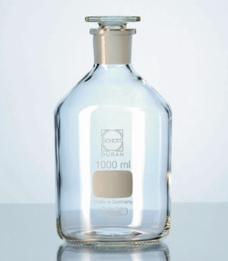 Narrow-mouth reagent bottles with stopper, DURAN® Heco-Catalogue