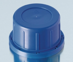 Tamper-evident caps for soda-lime square screw cap bottles, PP Heco-Catalogue