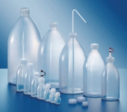 Narrow-mouth bottles, series 301, PE-LD Heco-Catalogue