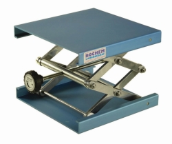 Laboratory jacks, aluminium anodized Heco-Catalogue