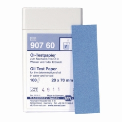 Oil test paper Heco-Catalogue