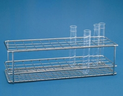 Test tube racks, stainless steel Heco-Catalogue