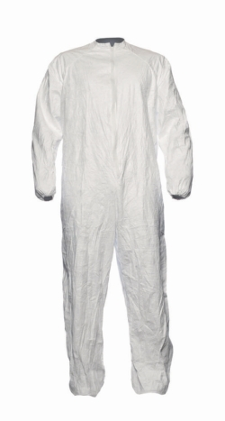 Disposable coverall Tyvek® IsoClean®, with collar, sterile