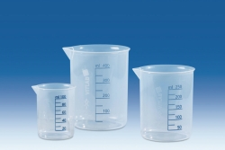Griffin beakers, PP Heco-Catalogue